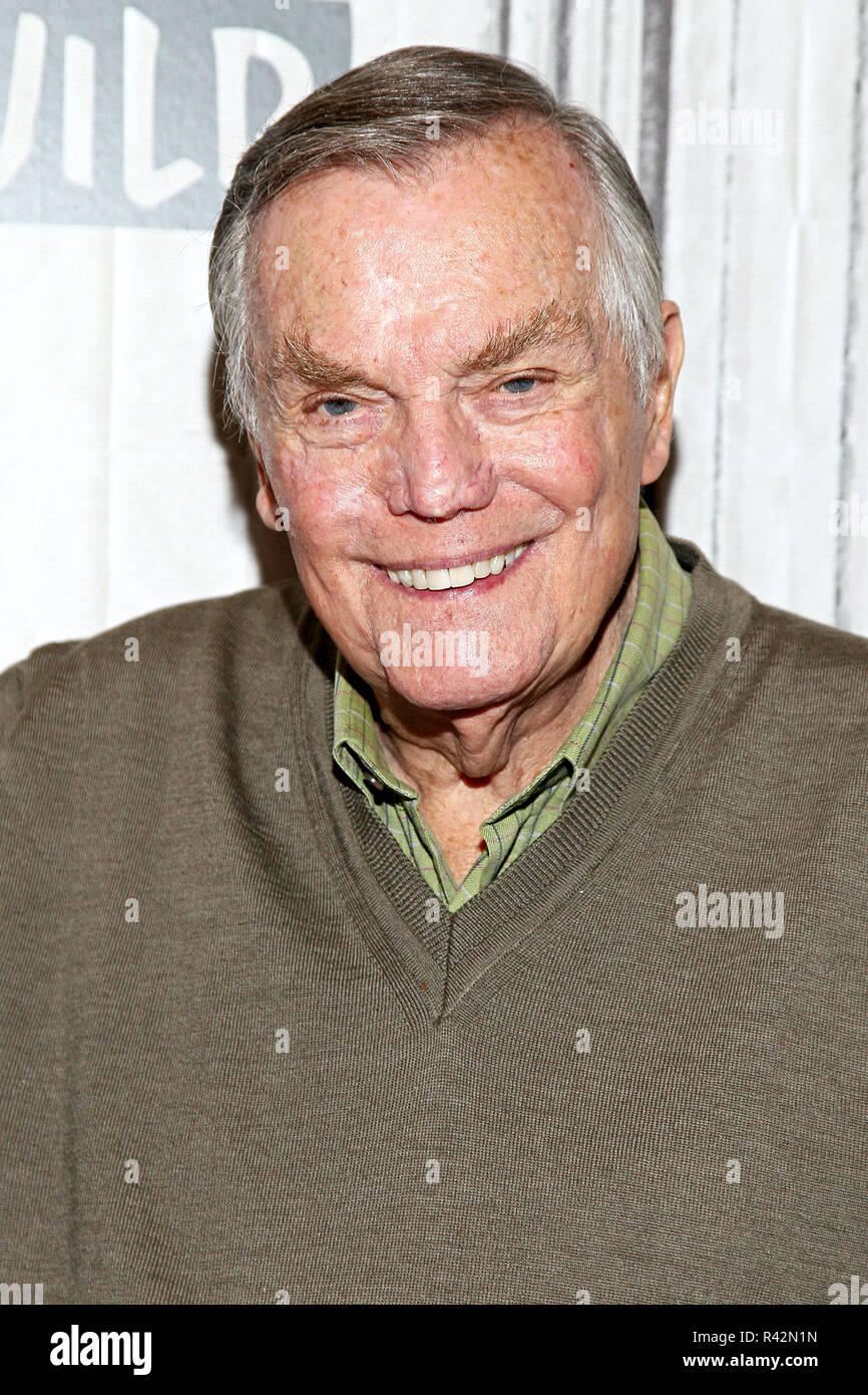 NEW YORK, NY - NOVEMBER 02:  Build presents Peter Marshall discussing 'Wait for Your Laugh' at Build Studio on November 2, 2017 in New York City.  (Photo by Steve Mack/S.D. Mack Pictures) - Stock Image