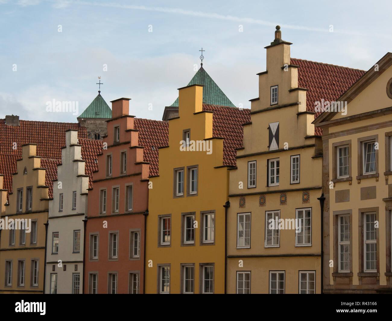 marketplace osnabrück - Stock Image