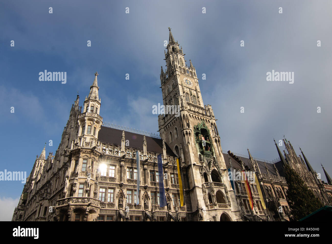 Rathaus in München - Stock Image