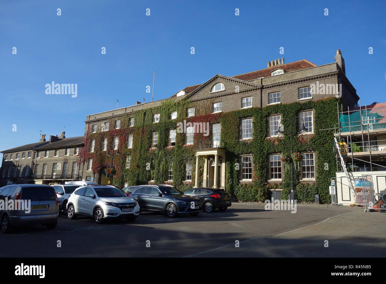 The Angel Hotel, Bury St Edmunds, Suffolk - Stock Image