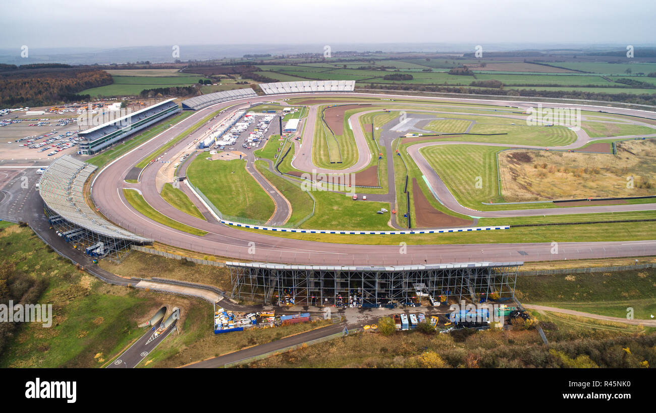 Rockingham Motor Speedway in Northamptonshire, famous for having Europes fastest banked oval race circuit, holding its last raceday on Saturday before its ...
