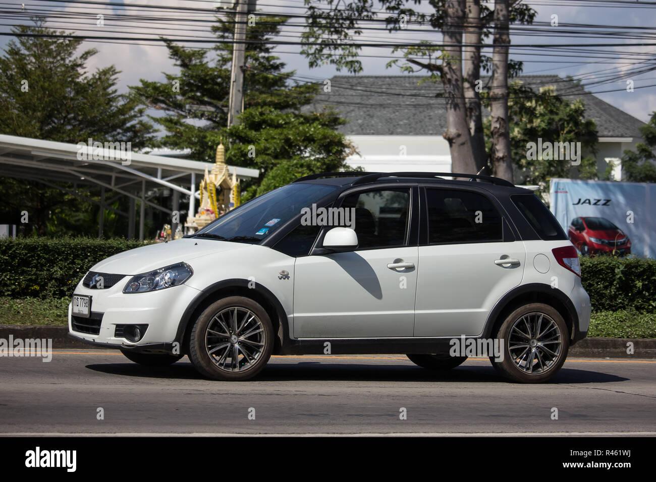 Chiangmai Thailand November 15 2018 Private Suv Car Suzuki Sx4