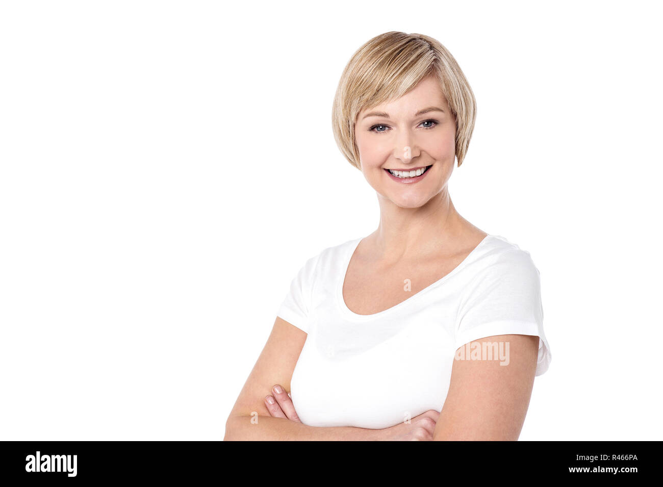 I am happy today ! - Stock Image