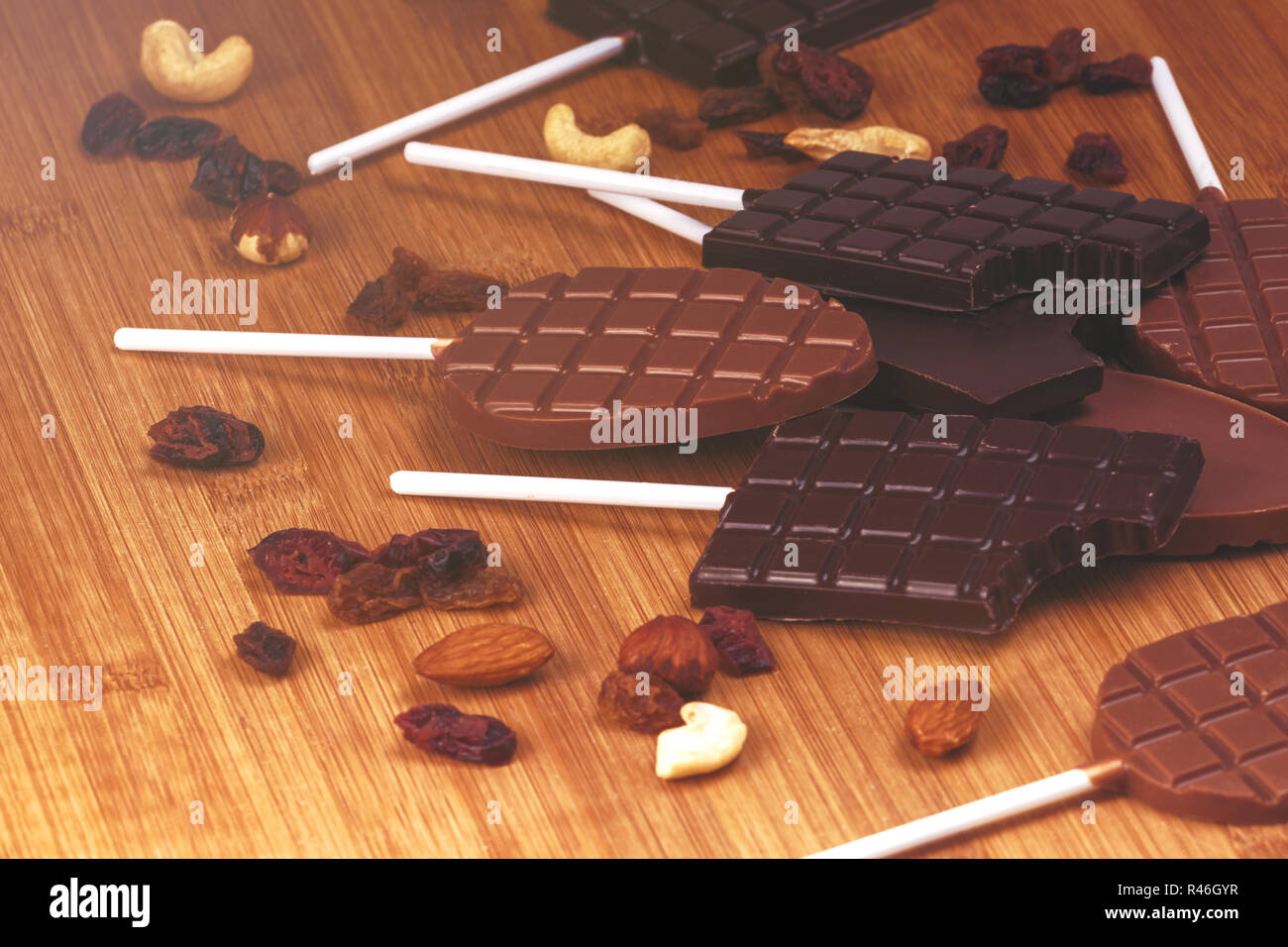Handmade Chocolate - Stock Image