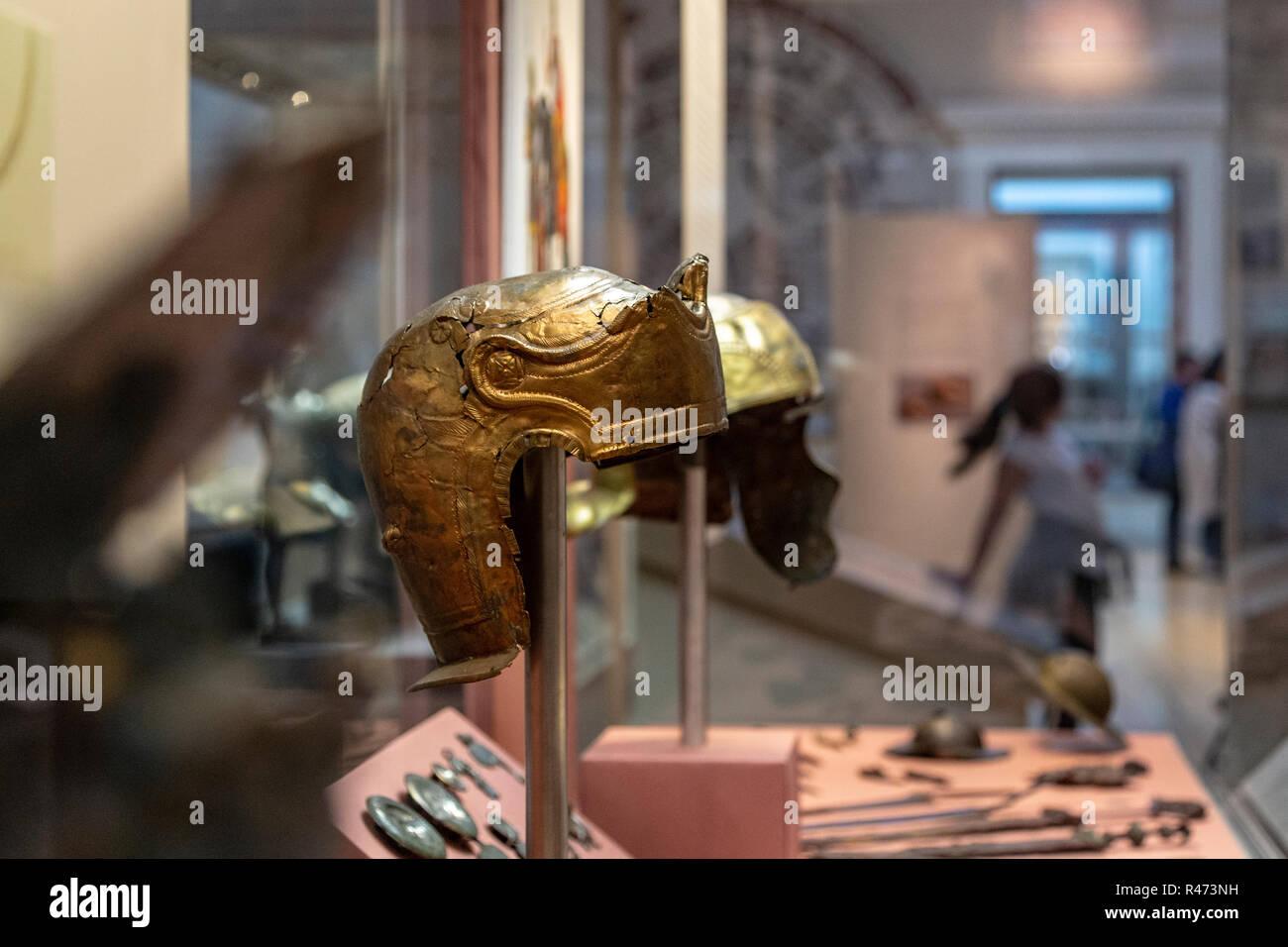 British Museum, London, England, United Kingdom - Stock Image