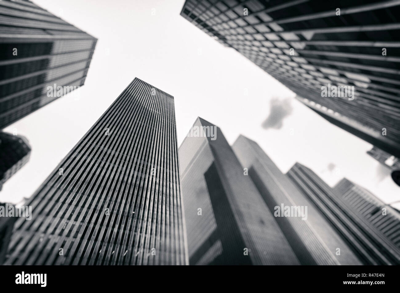 Urbanized world - Stock Image