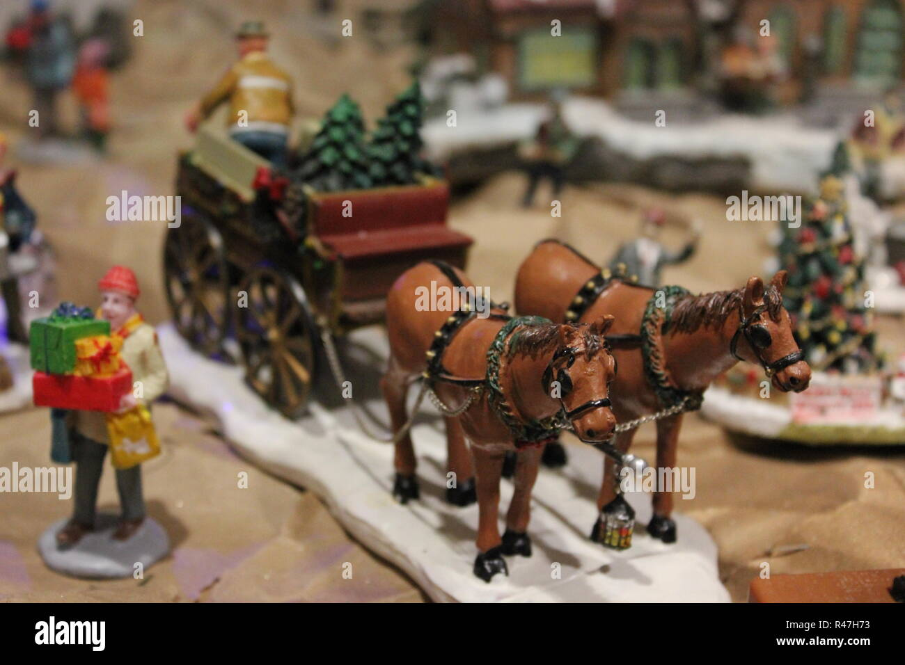Christmas Carriage High Resolution Stock Photography And Images Alamy