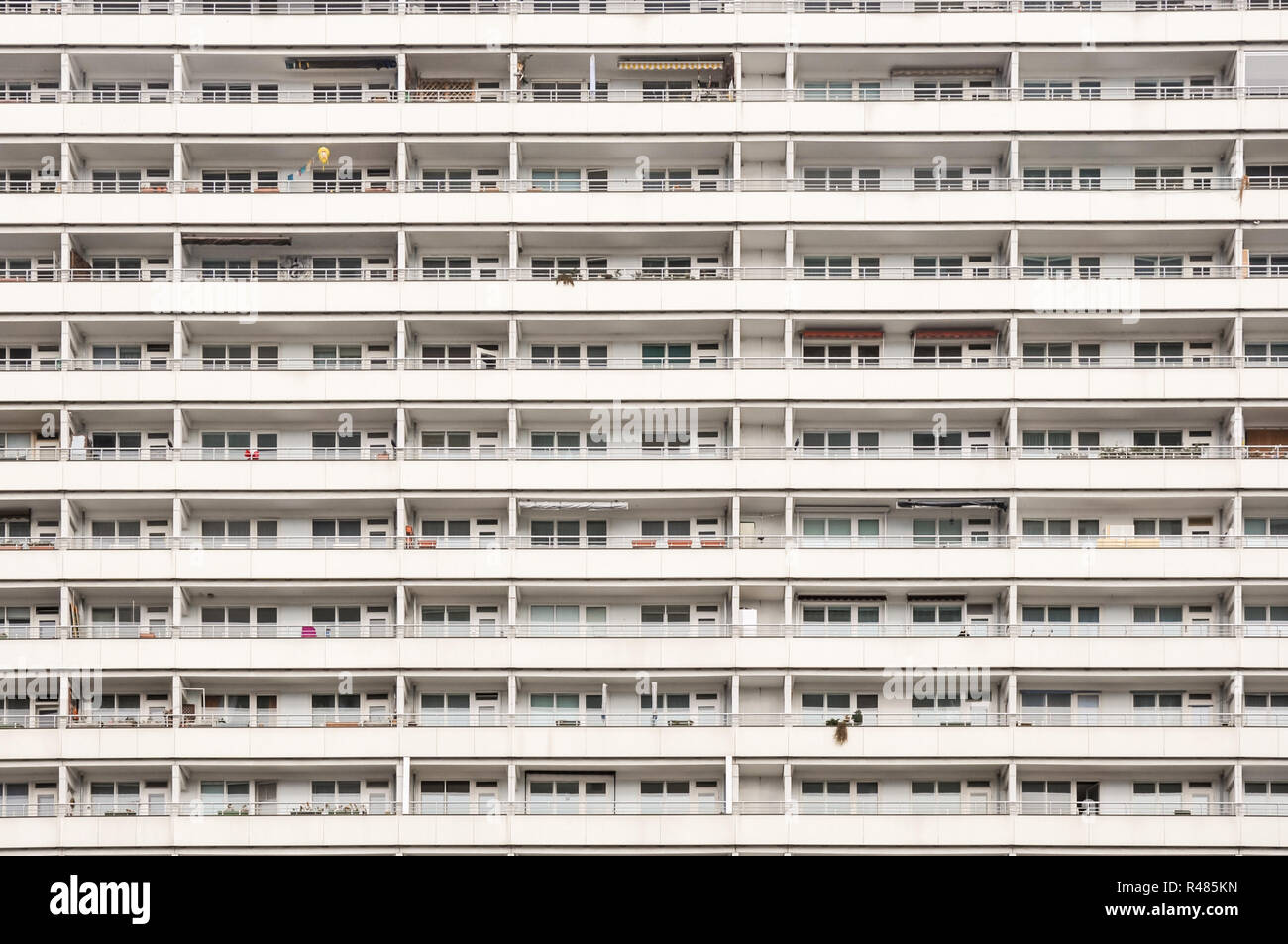 high-rise with apartments and apartments in berlin Stock Photo