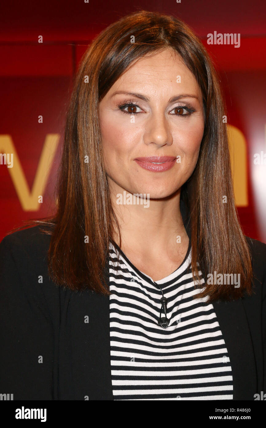 Nazan Eckes, Hart aber Fair, WDR Fernsehnstudio B, Koeln, 18.04.2016 - Stock Image