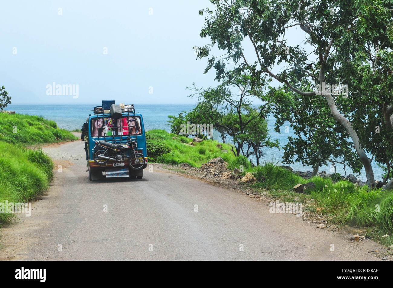 Atauro Island and Dili, East Timor (Timor Leste) Stock Photo