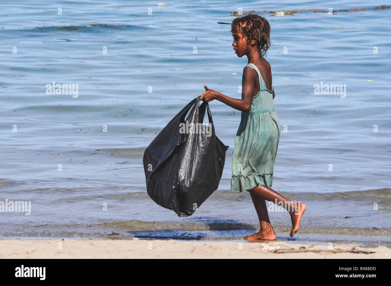 Atauro Island and Dili, East Timor (Timor Leste) Stock Photo