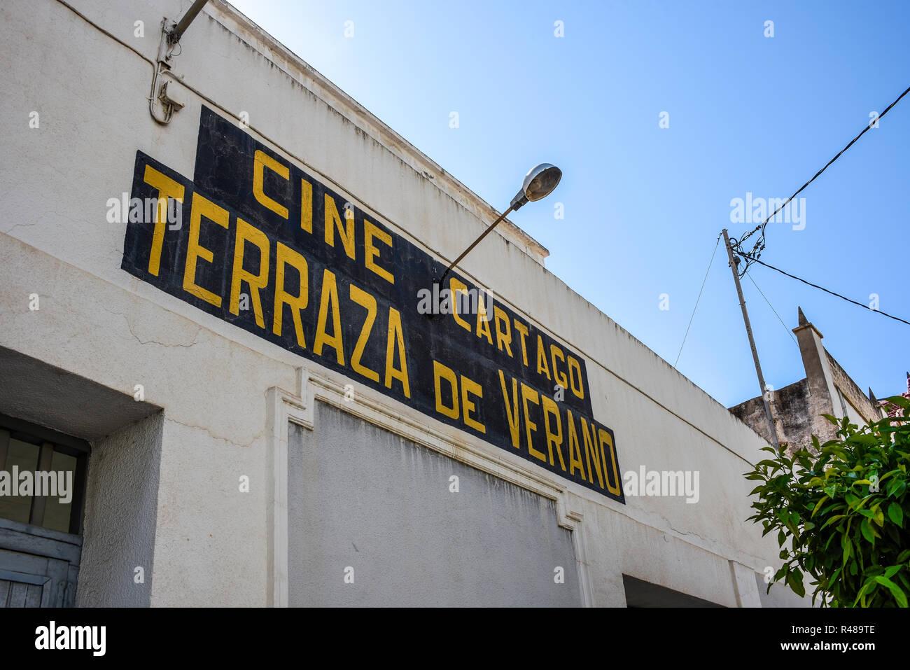 Old Cartago Cine Terraza De Verano Cinema Pictures Picture