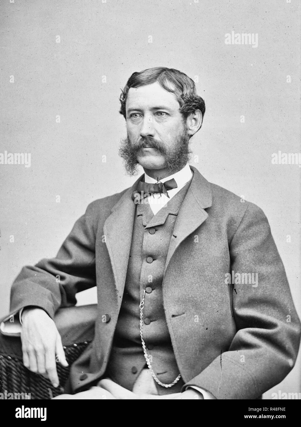 R.B. Rhett, Jr., circa 1860 - Stock Image