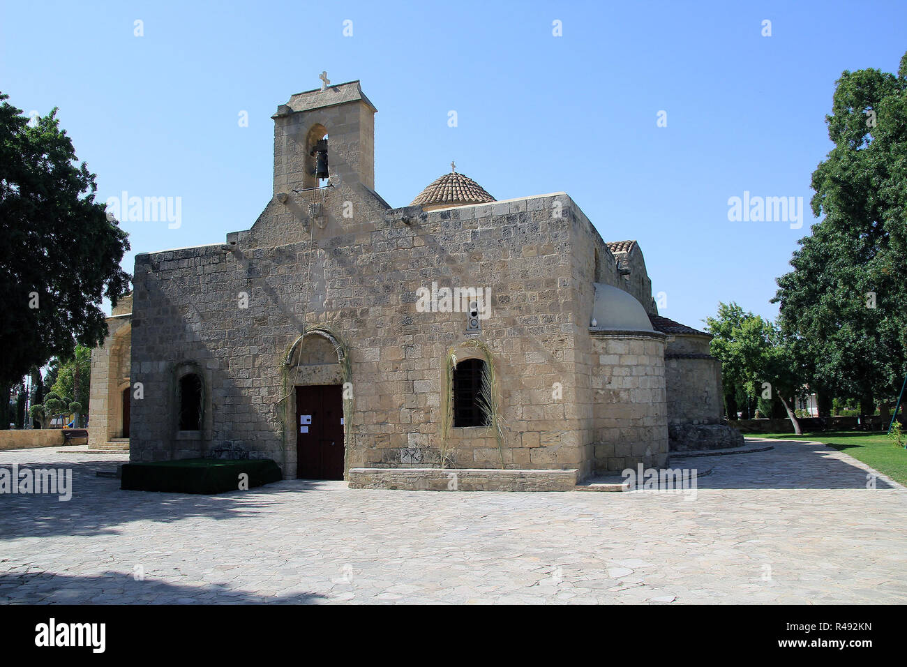 panagia angeloktistos church in kiti,cyprus Stock Photo