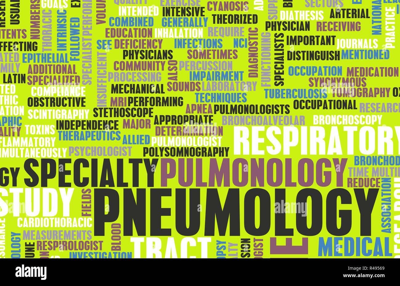 Pneumology - Stock Image