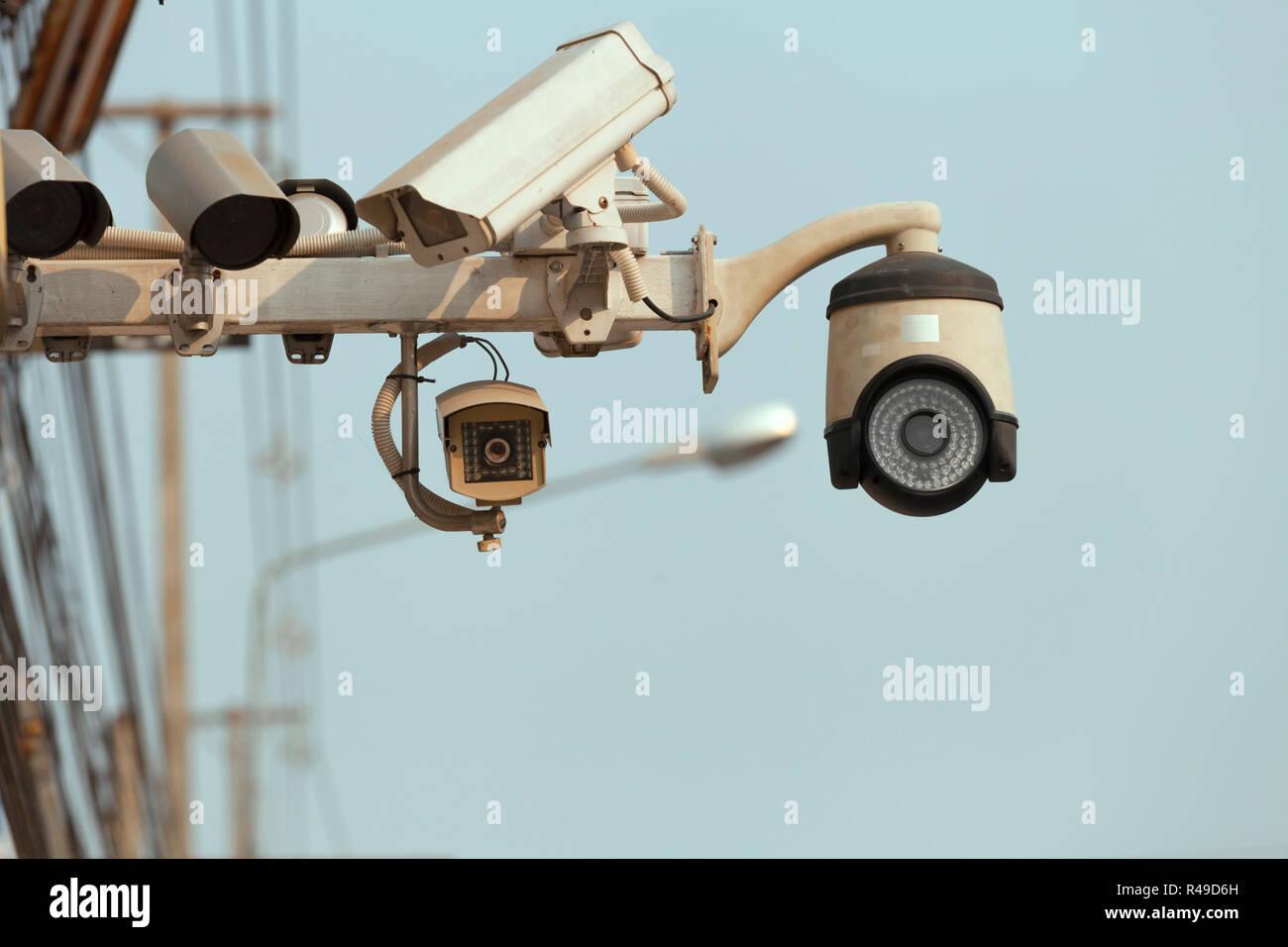 street CCTV - Stock Image
