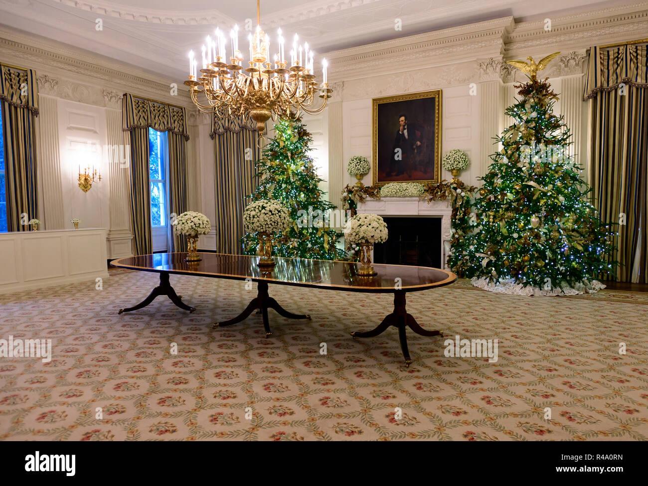 Us President Abraham Lincoln 26th Nov 2018 The 2018 White House