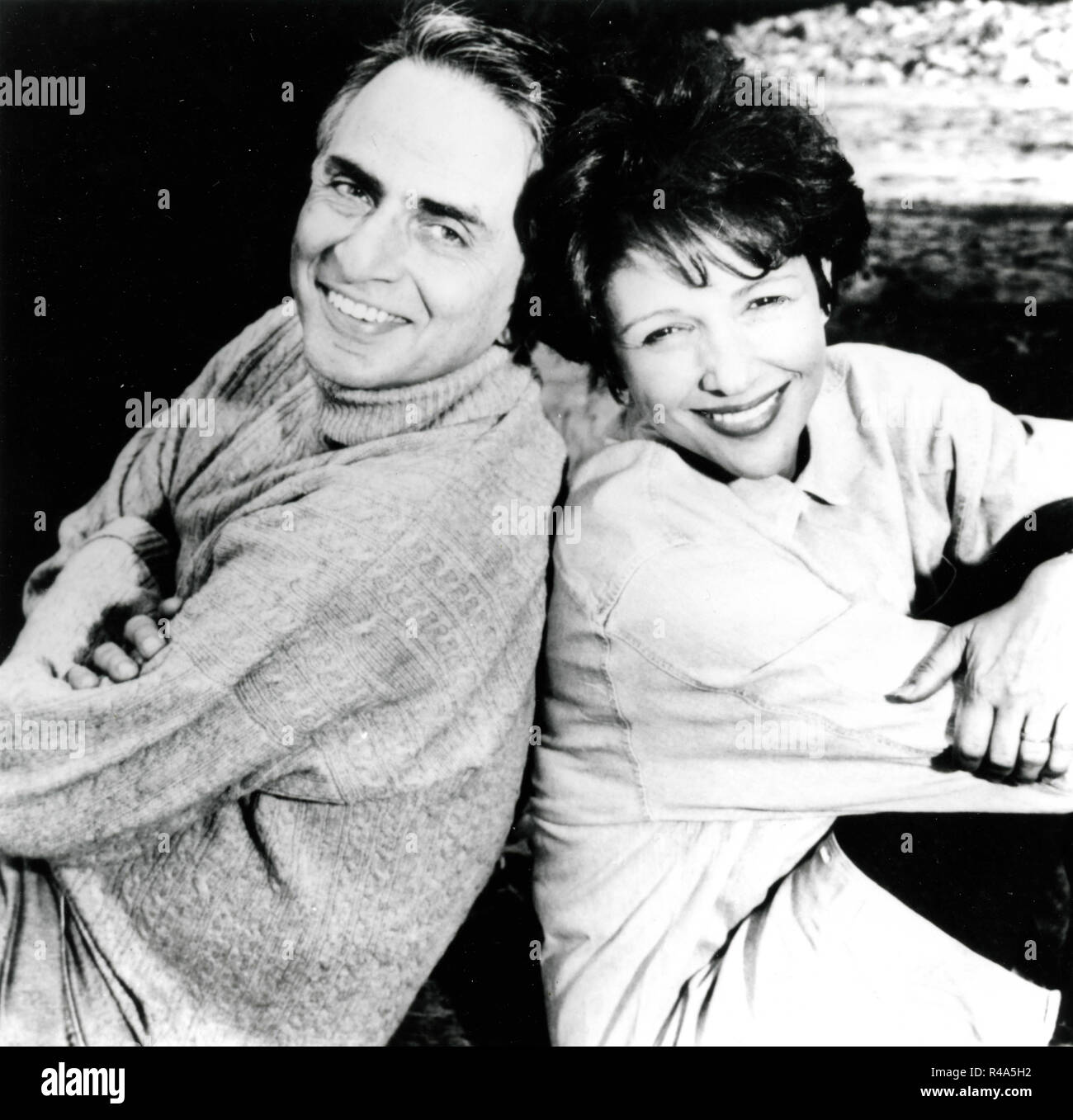 Image result for carl sagan and ann druyan