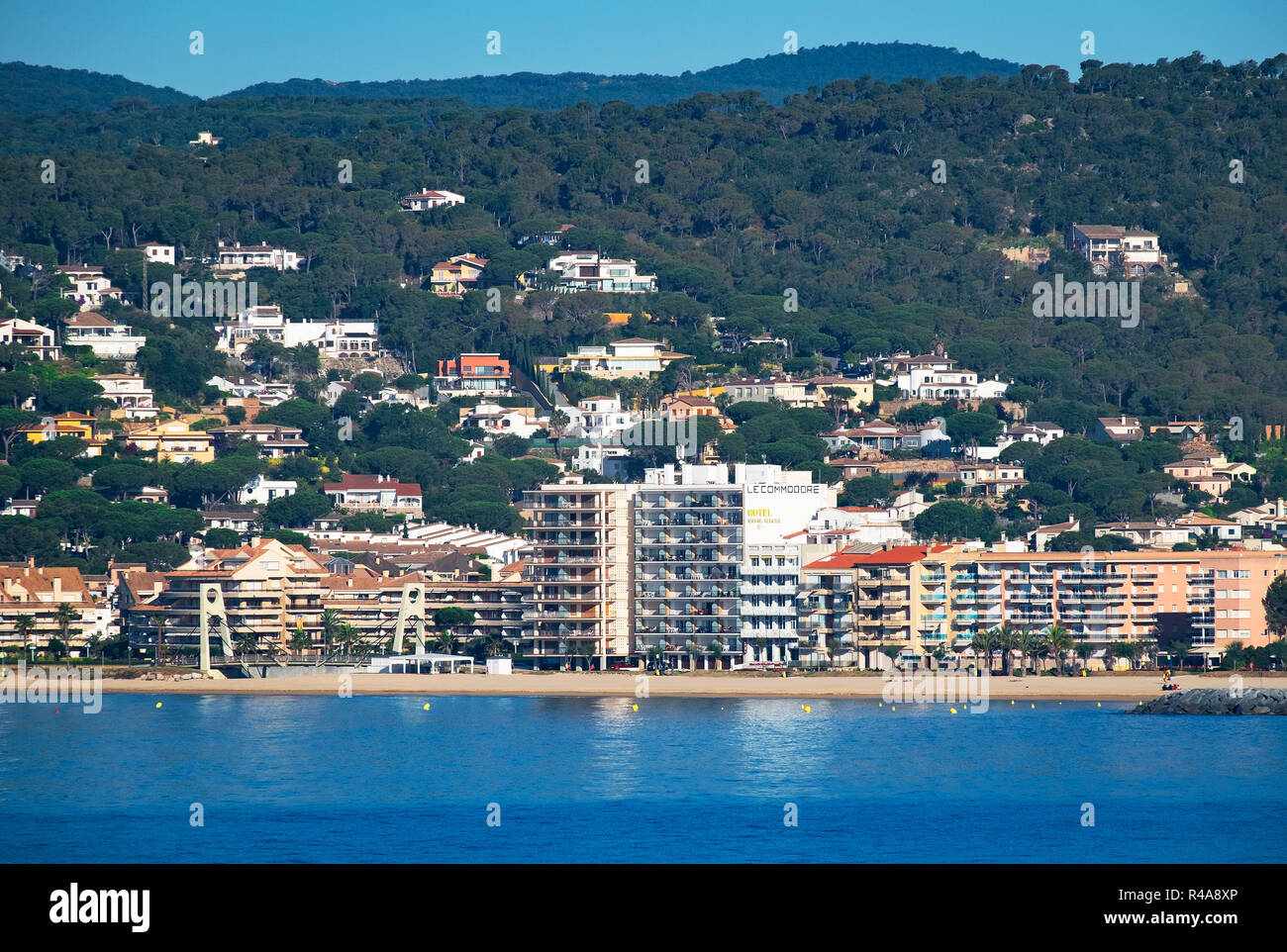 Beach And Hotels Apartments In Palamos On The Costa Brava Girona