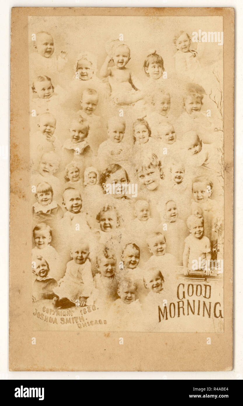 Strange Slightly Spooky Victorian Carte De Visite CDV Greetings Card Albumen Print