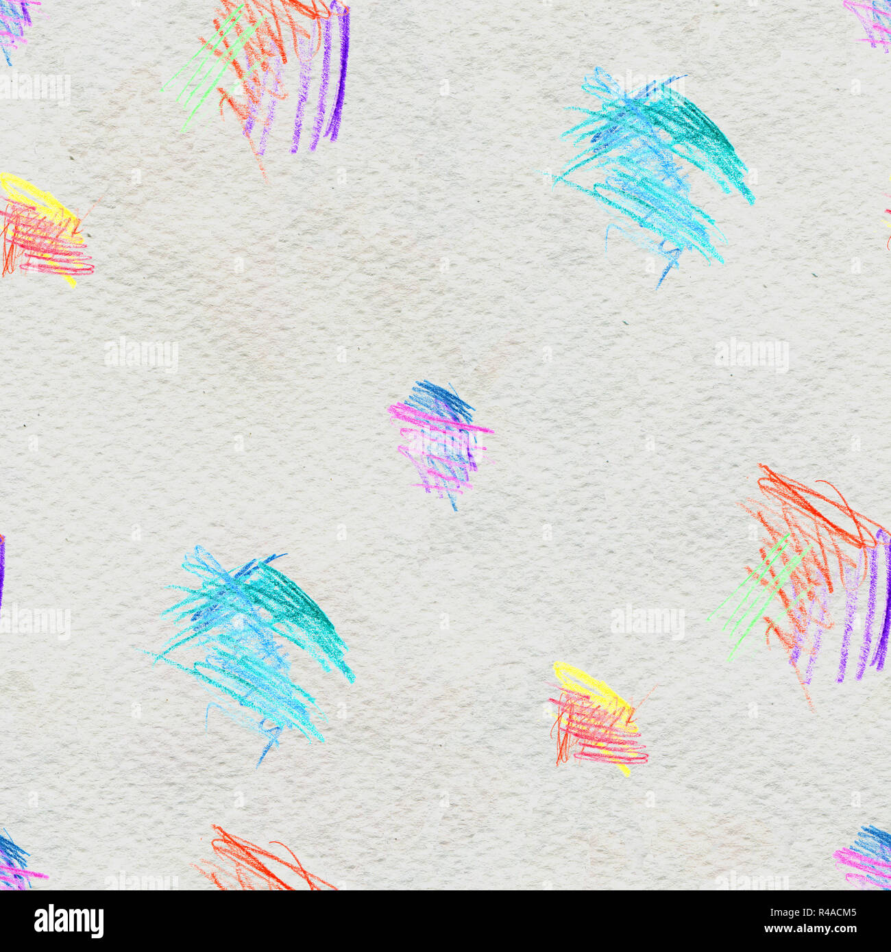 Abstract Seamless Scribble Background Fantasy Modern