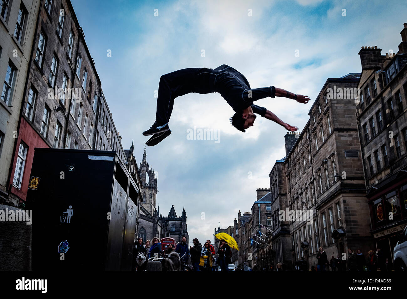 Images from the forty eight hour photography challenge Edinburgh - Stock Image