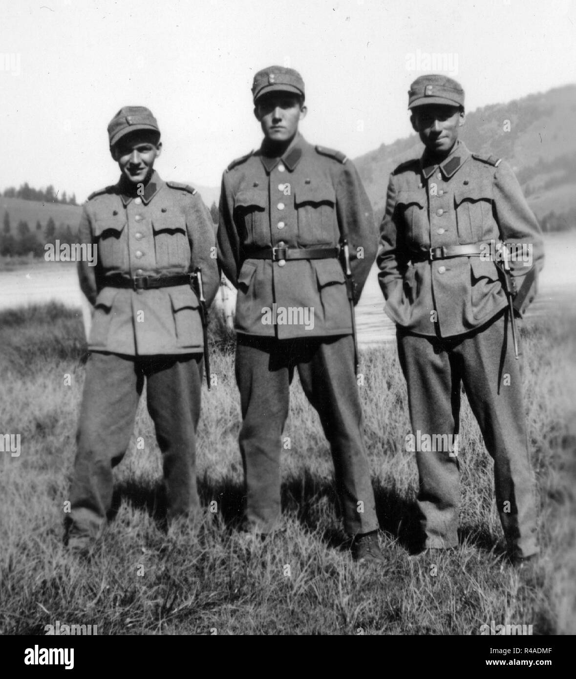 Swiss Soldiers Ww2 Stock Photo: 226423695