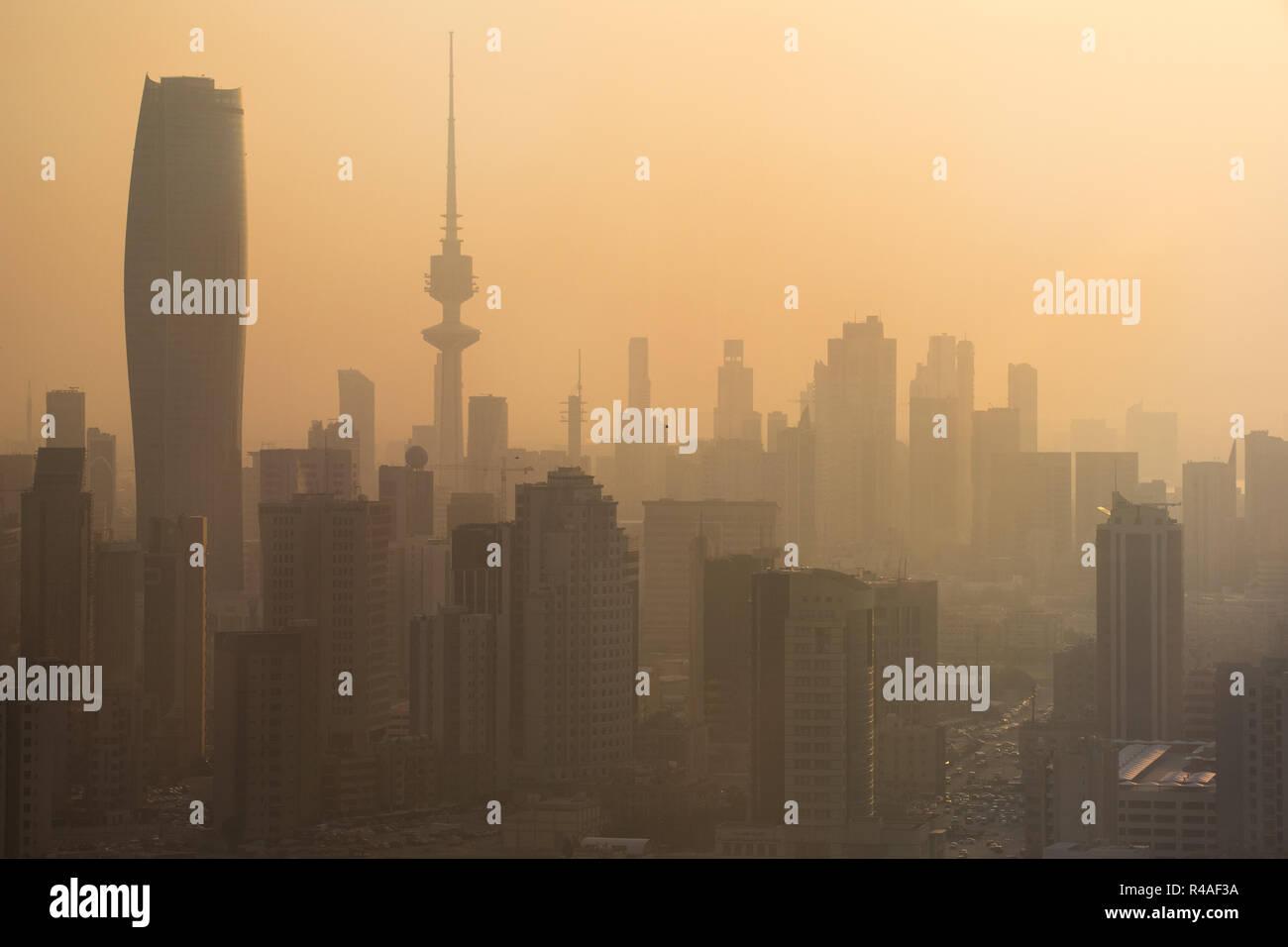 Kuwait City, Kuwait - Stock Image