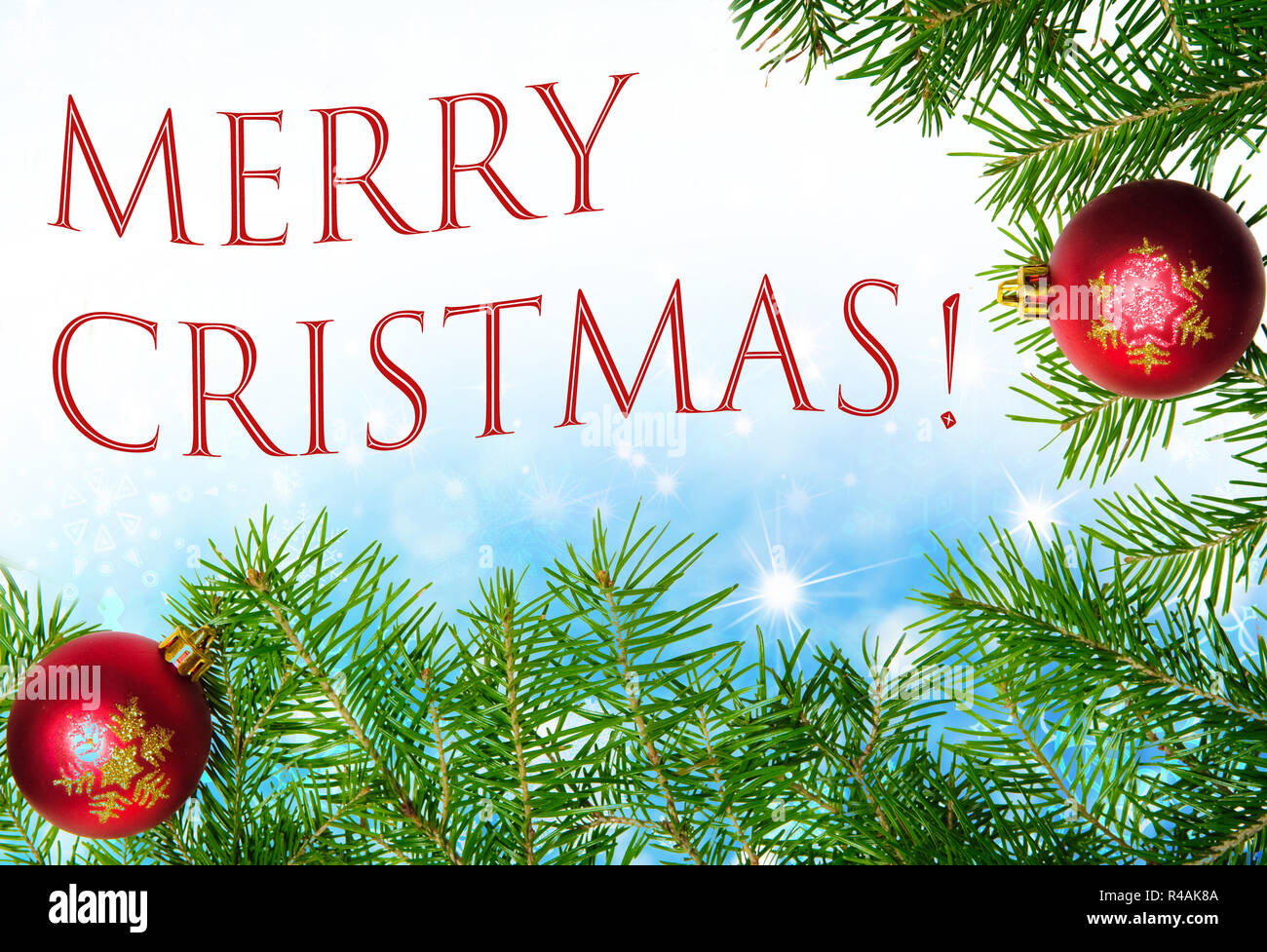 Christmas Greetings Background.Merry Christmas Seasons Greetings Blue Sparking Background