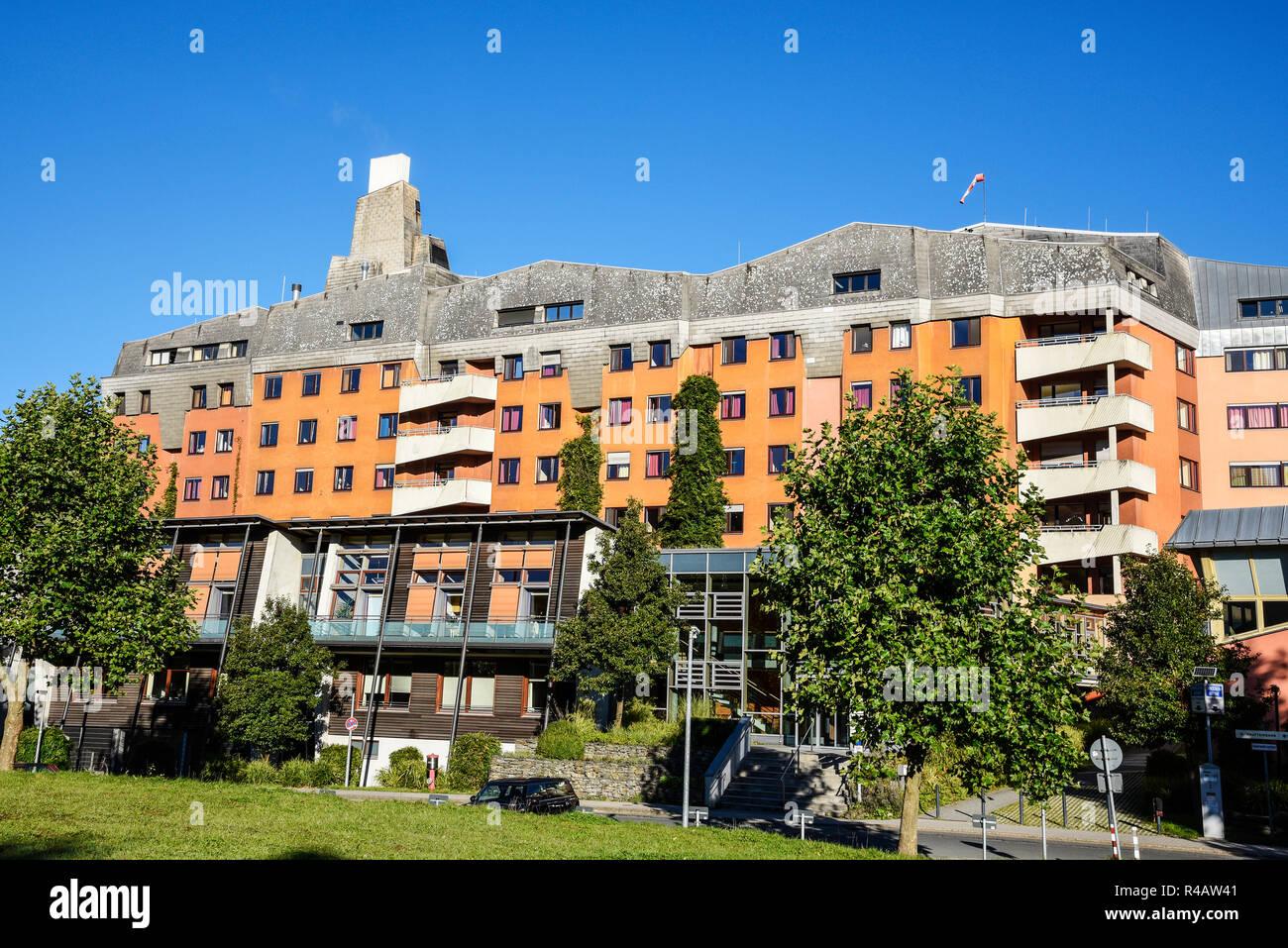 community hospital, anthroposophic hospital, Herdecke, North Rhine-Westphalia, Germany - Stock Image