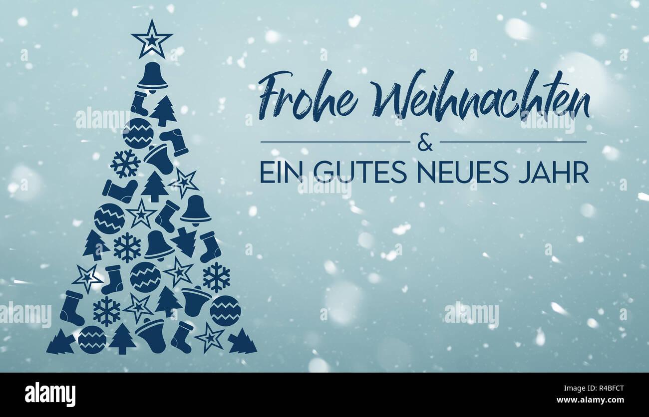 Text Frohe Weihnachten Und Ein Gutes Neues Jahr.Frohe Weihnachten Und Ein Gutes Neues Jahr Merry Christmas And