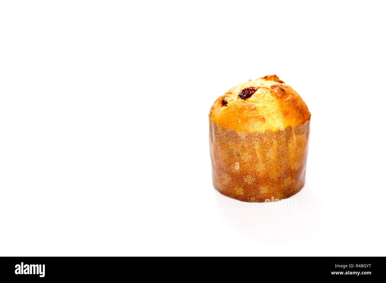 Panettone Italian Christmas Bread Cut Out Stock Images & Pictures ...