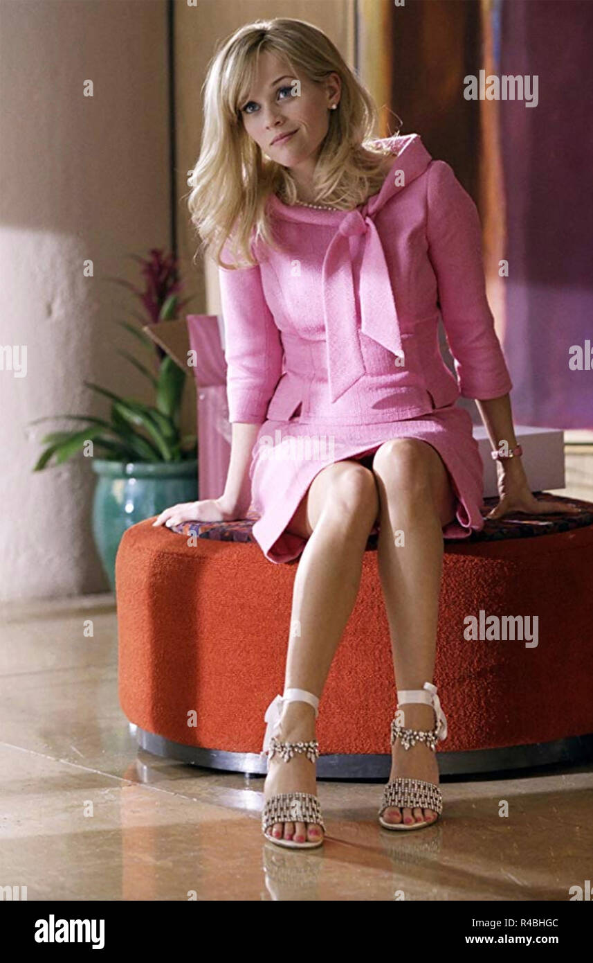 LEGALLY BLONDE 2 - 2003 MGM film with Reese Witherspoon - Stock Image