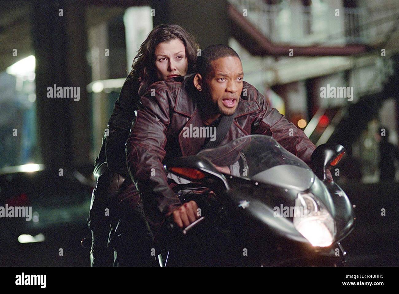 I,ROBOT  2004 Twentieth Century Fox film with Will Smith and Bridget Moynahan - Stock Image