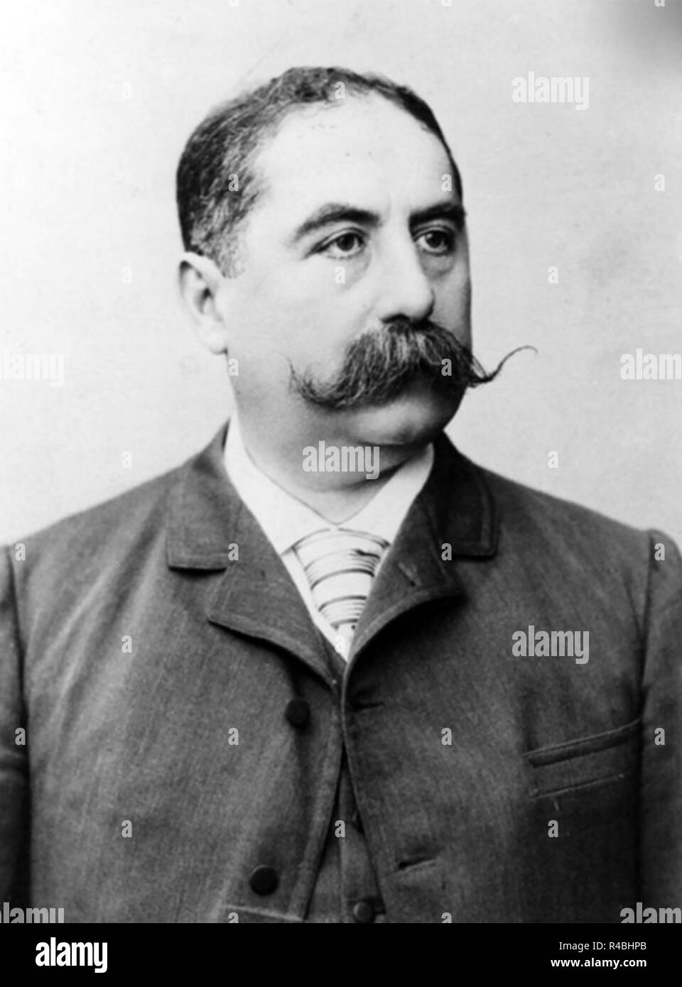 PASCHAL GROUSSET (1844-1909) Rrench politician and science fiction writer under several pen-names. - Stock Image