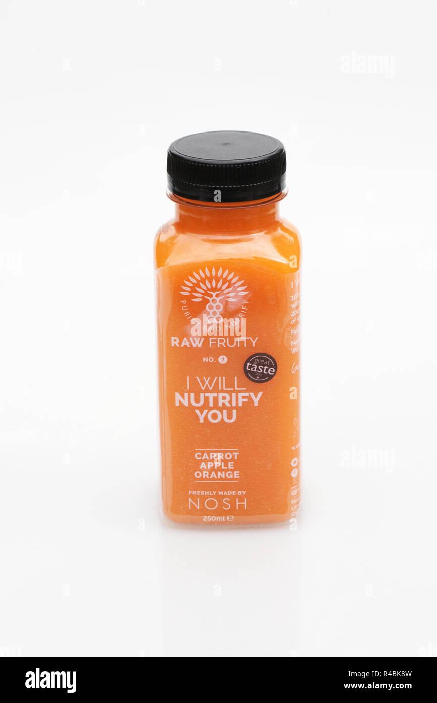Nosh Juice. - Stock Image