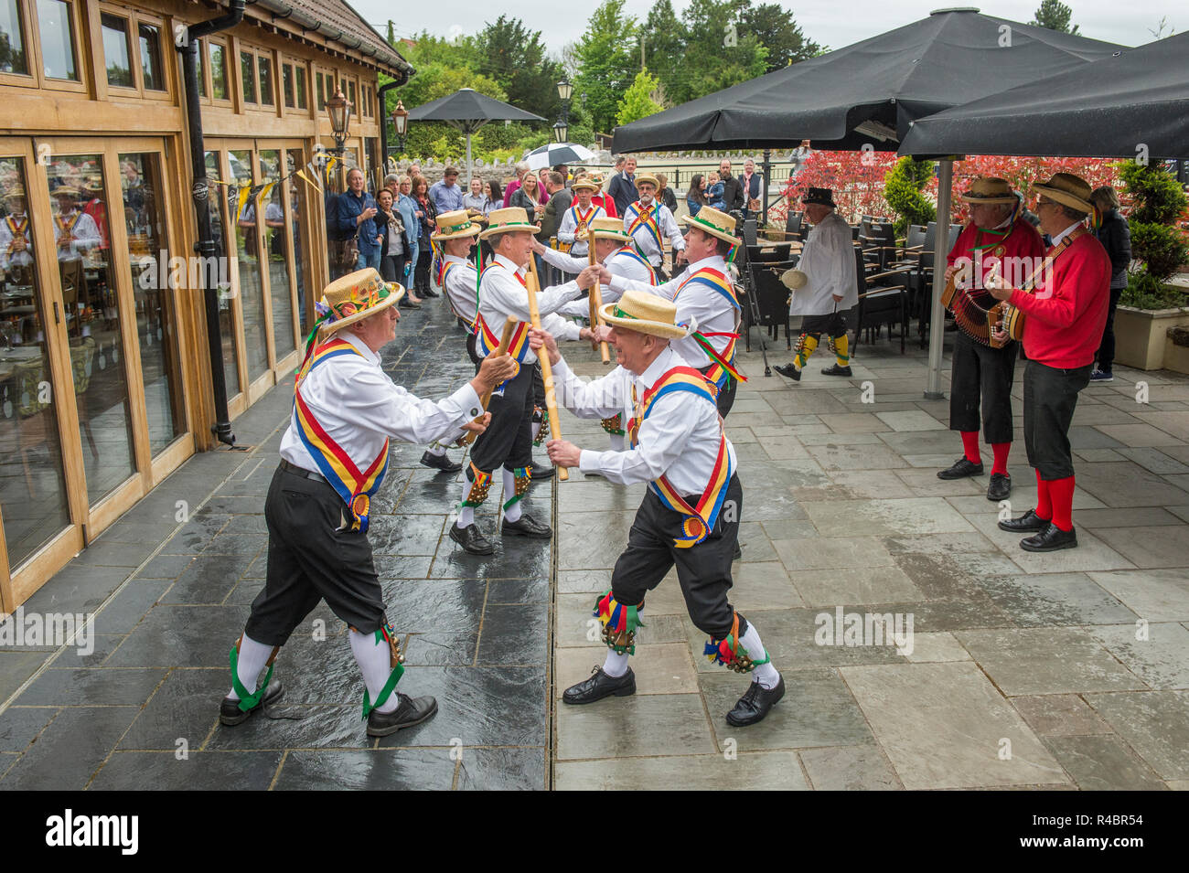 Somerset Day at Thatchers Cider, The Railway Inn, Sandford, North Somerset , 11th May, 2018 - Stock Image
