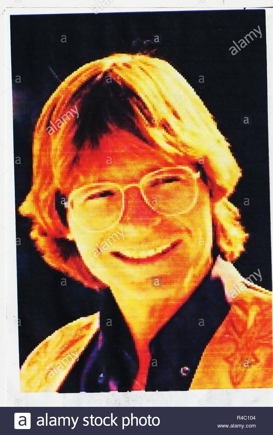American Singer John Denver Stock Photos & American Singer John ...