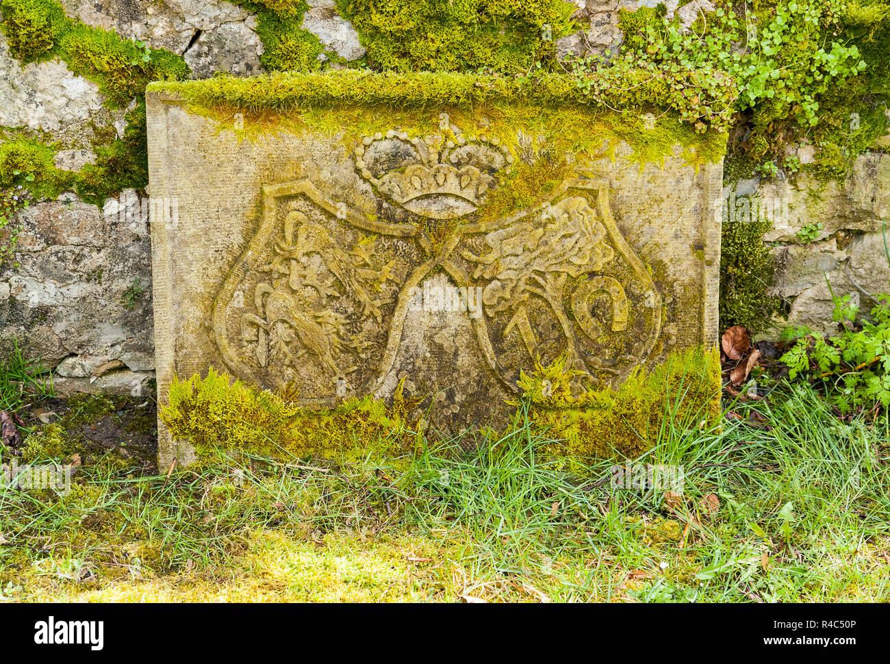 stonewith emblem - Stock Image