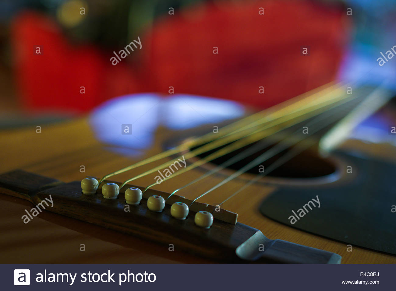 GUITAR STRINGS PROSPECT, ATHENS, GREECE - Stock Image