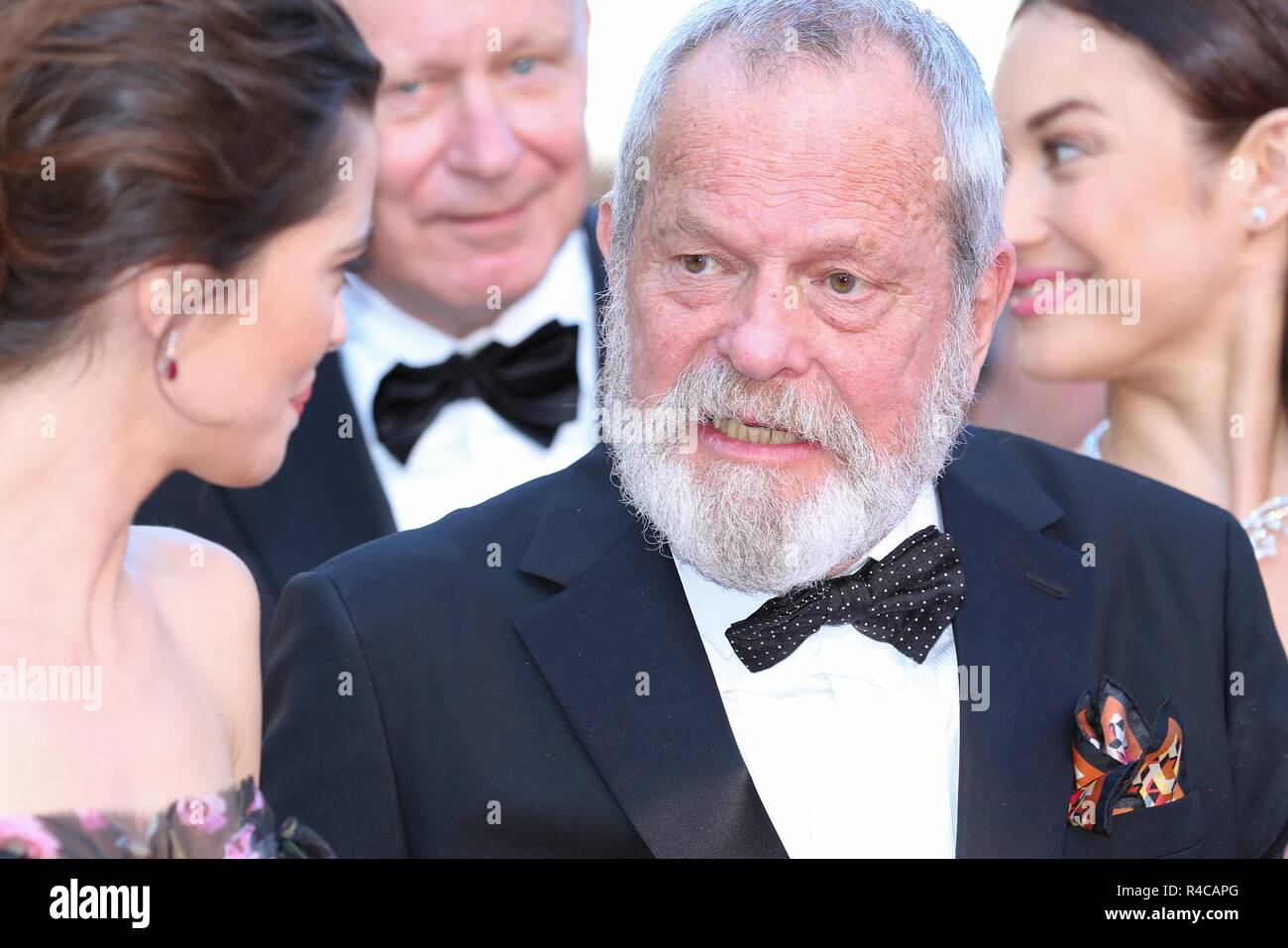CANNES, FRANCE – MAY 19, 2018: Terry Gilliam walks the red carpet at 'The Man Who Killed Don Quixote' screening at the 71st Festival de Cannes - Stock Image