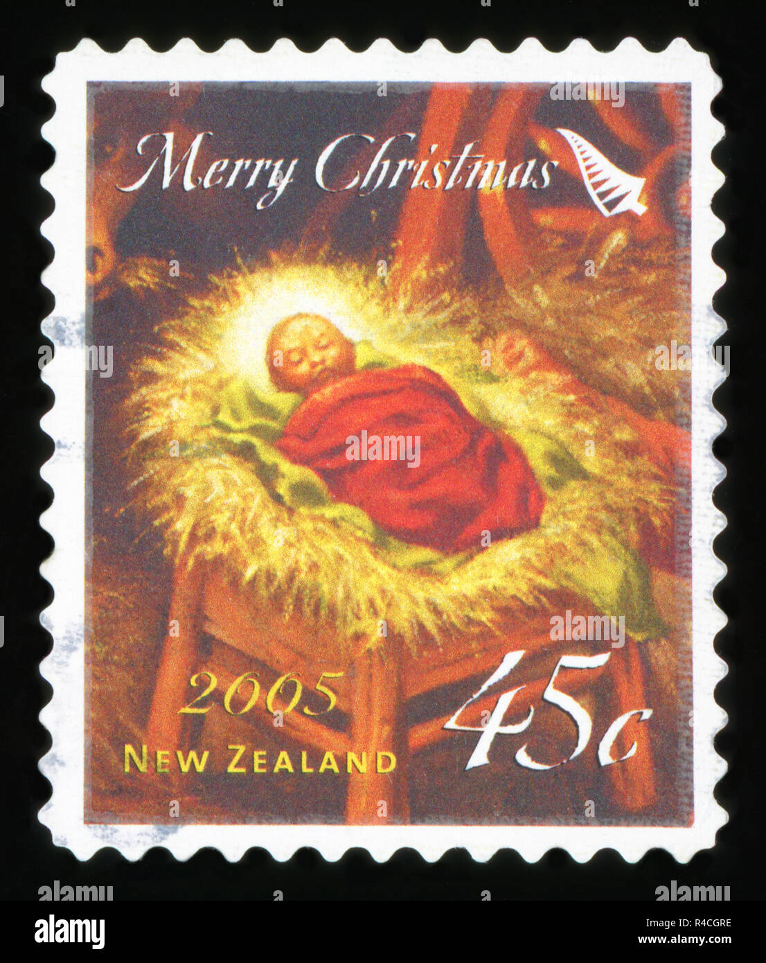 Religious Christmas Stamps 2021 Christmas Stamp With Nativity Scene High Resolution Stock Photography And Images Alamy
