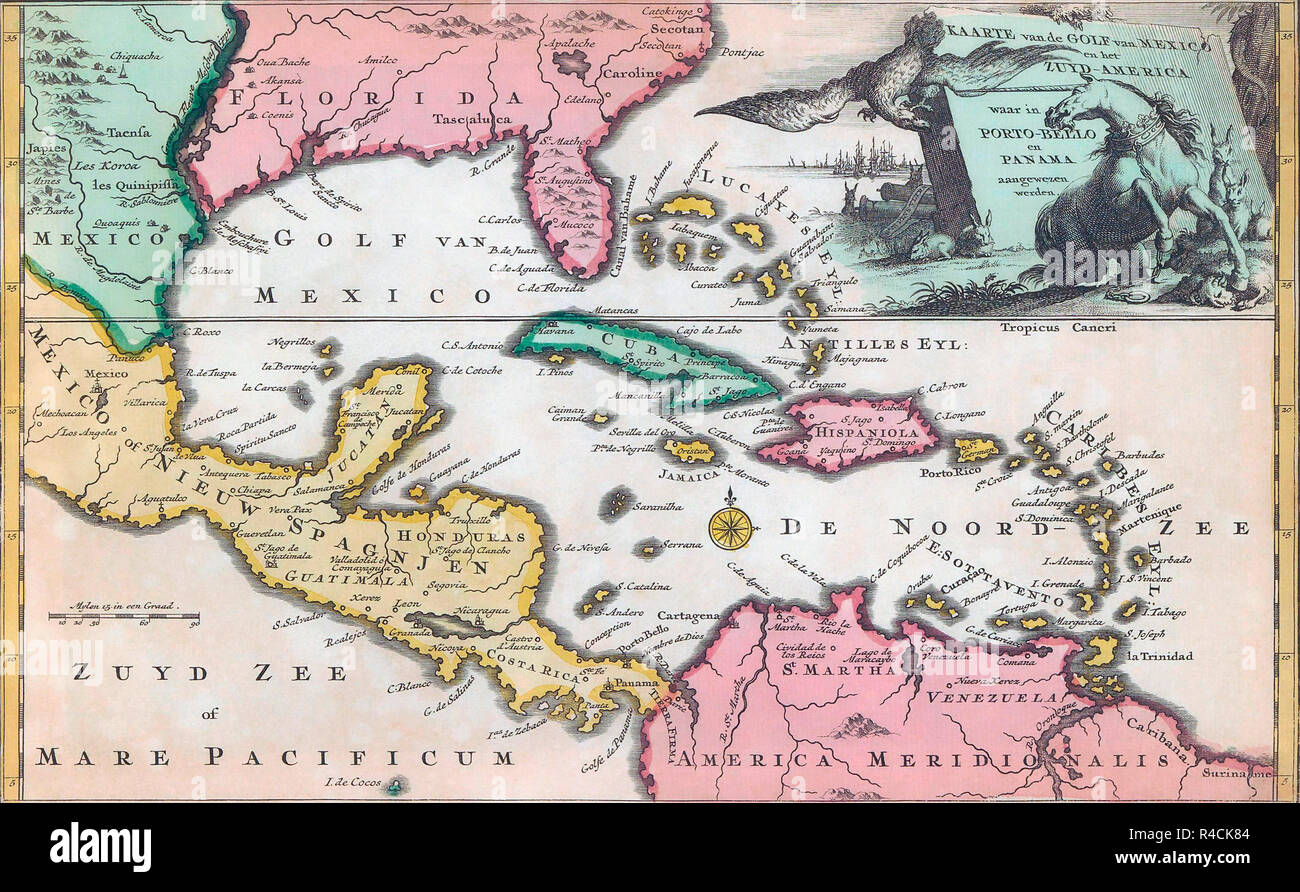 Picture of: Central America Map High Resolution Stock Photography And Images Alamy