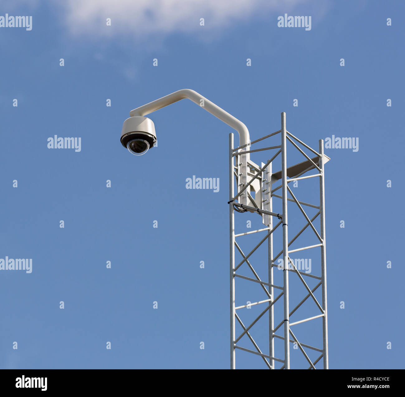 Video Surveillance Camera - Stock Image