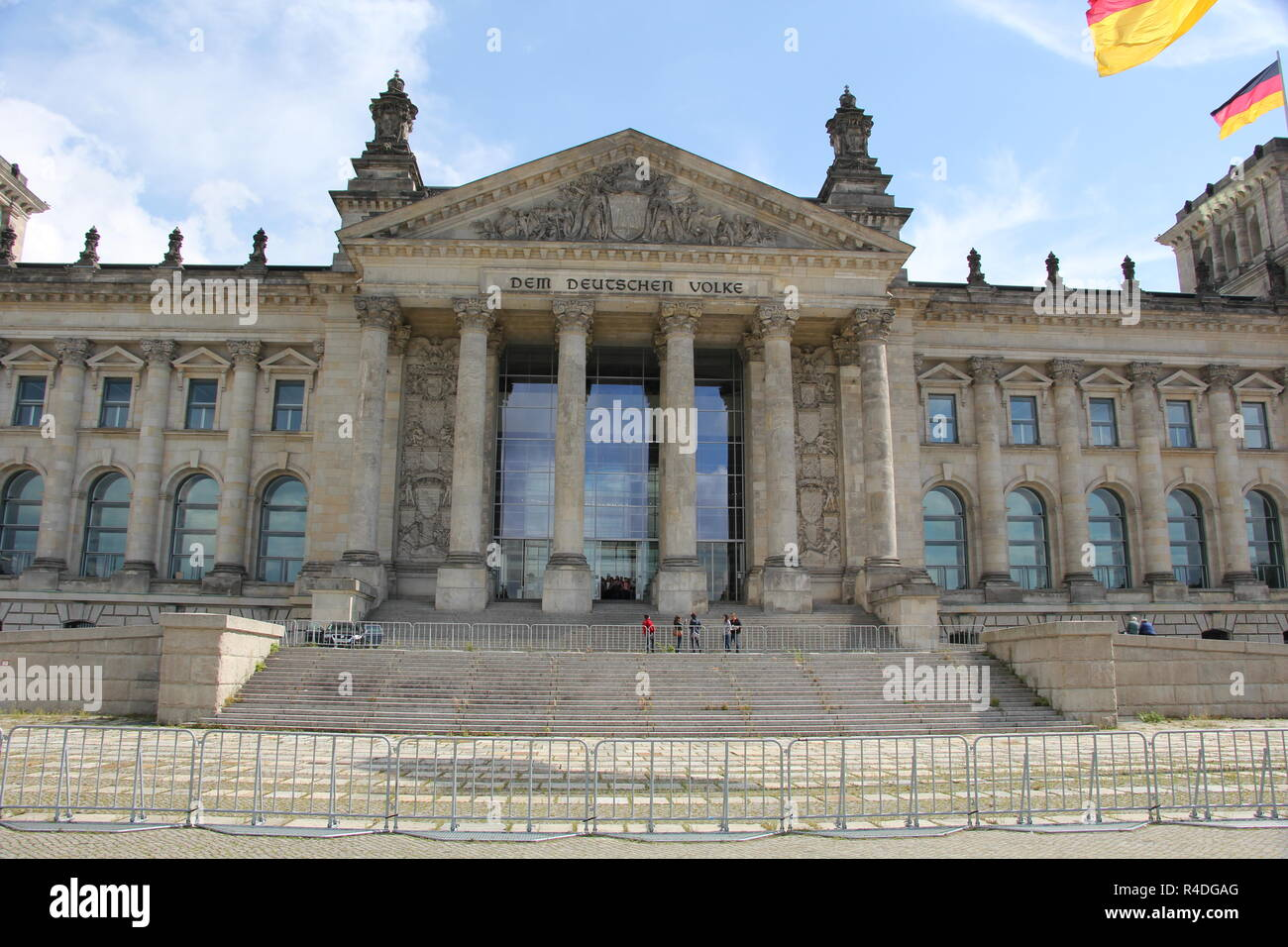 Reichstag in Berlin, Germany - Stock Image