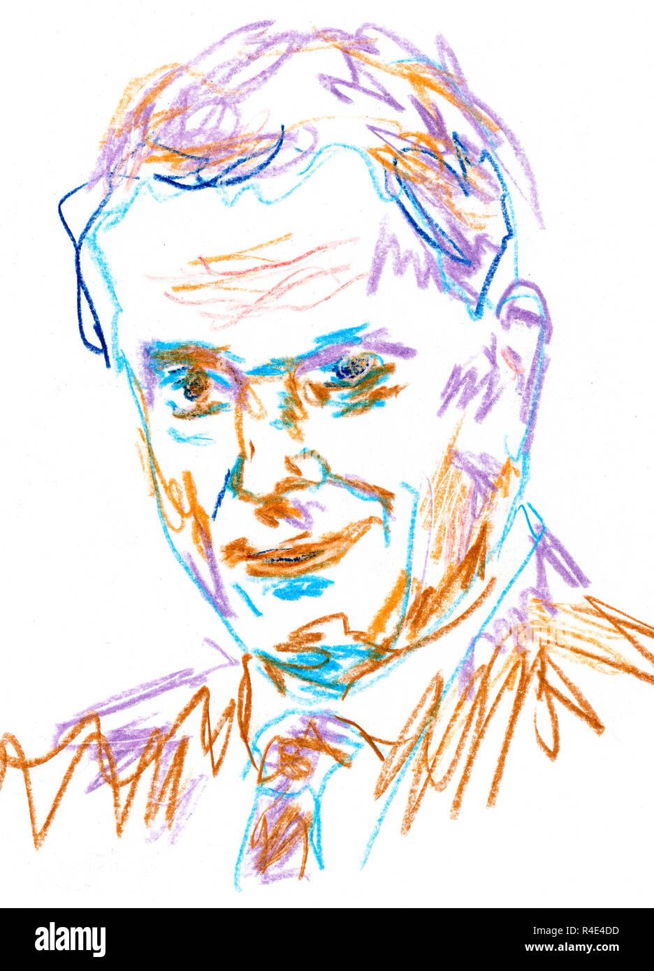 President of Finland Sauli Niinistö - Stock Image