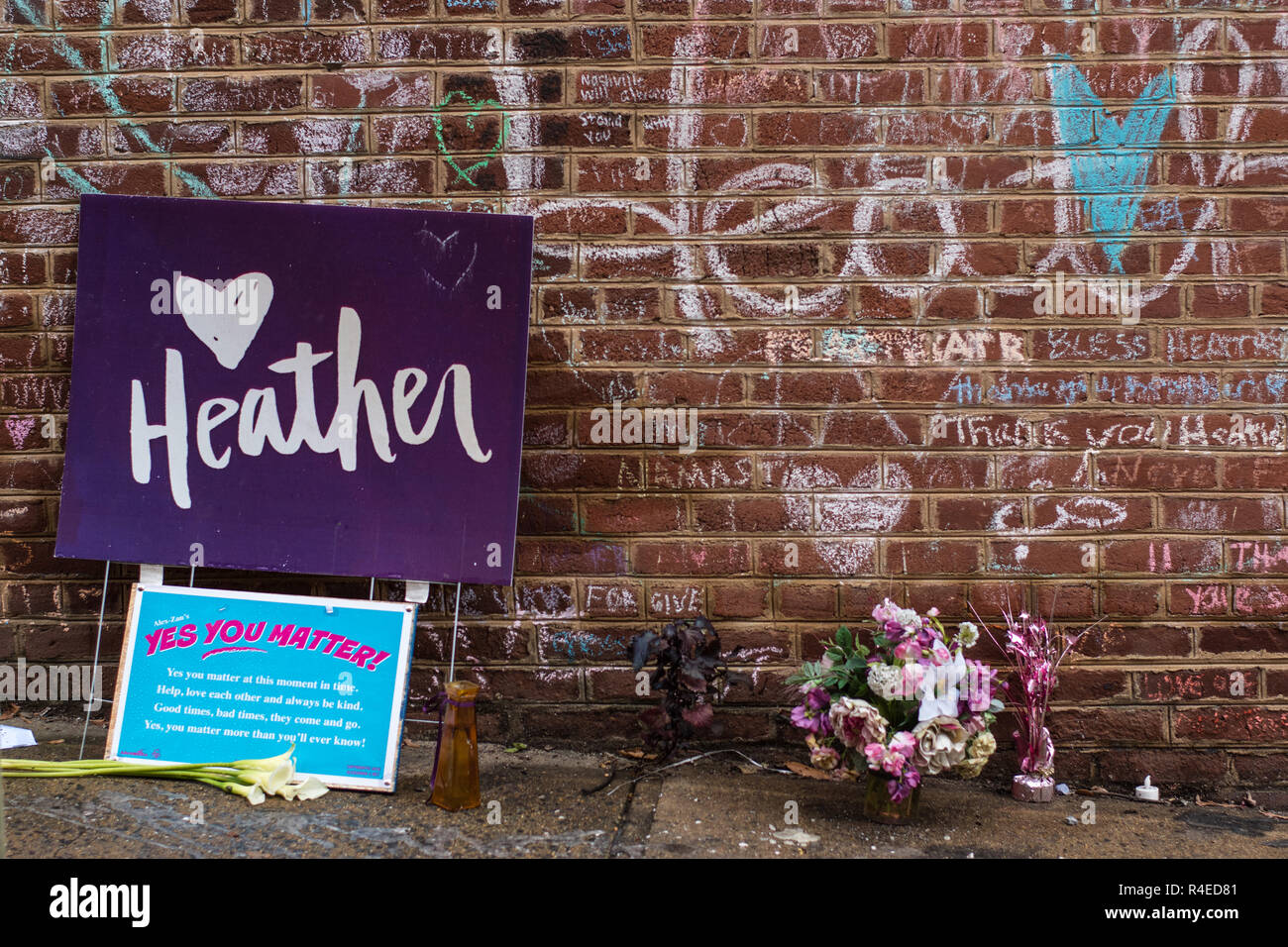 Charlottesville , Virginia United States November 26 , 2018 Jury selection started on Monday for the murder of Heather Heyer on August 12 , 2017 ant the Charlottesville Unite The Right rally. James Alex Fields Junior was indicted on multiple charges for the incident. Credit: F42PIX/Alamy Live News - Stock Image