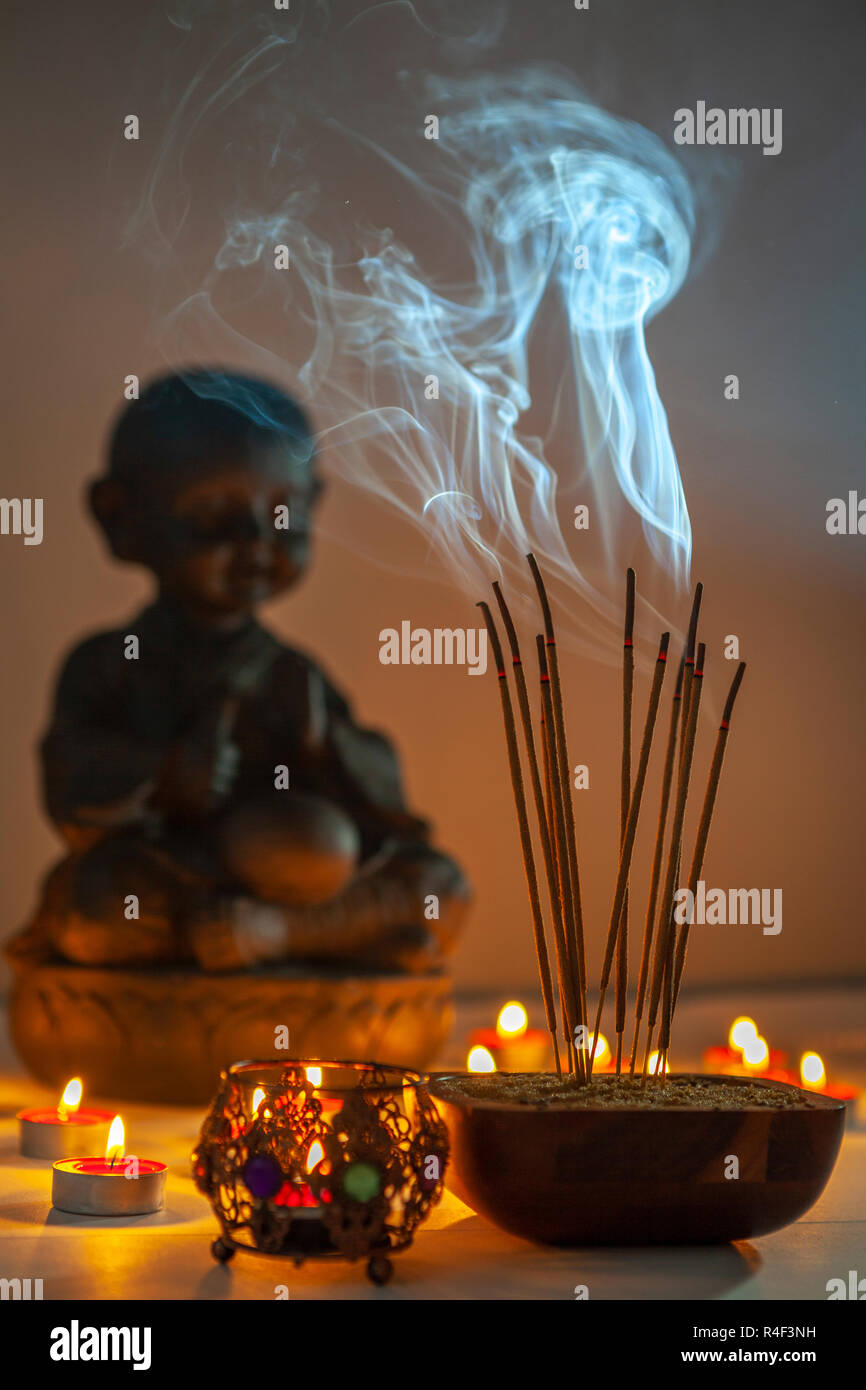Magic Incense High Resolution Stock Photography And Images Alamy