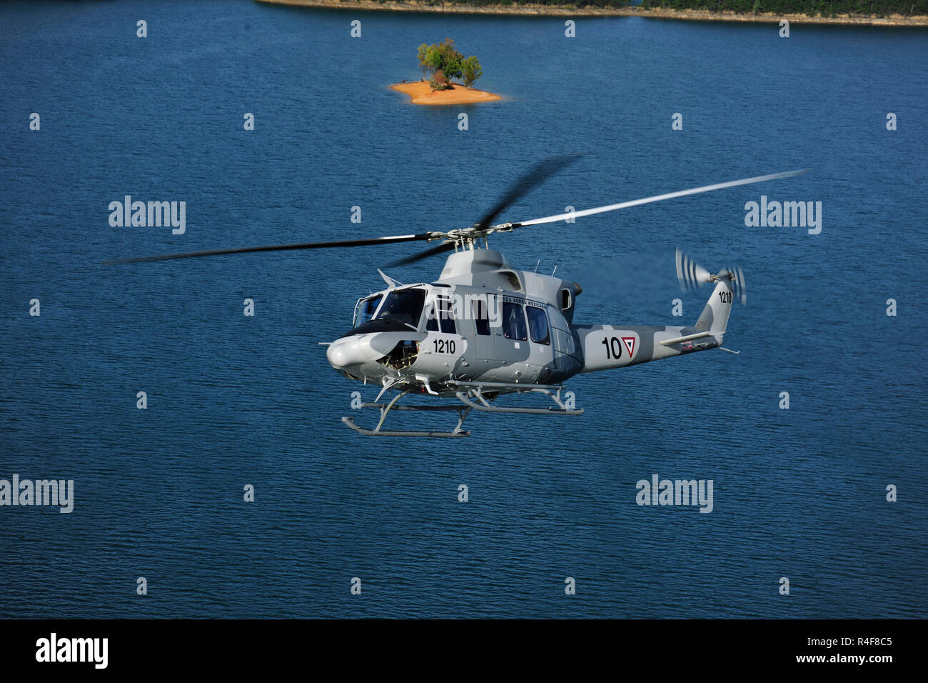Bell 412Helicopter - Stock Image