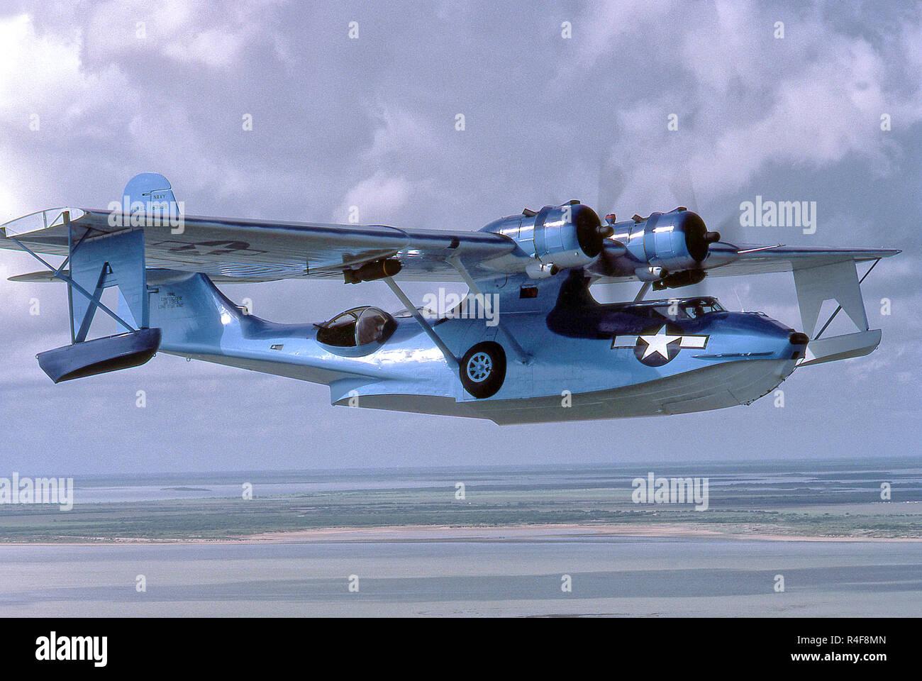 PBY Catalina Flying Boat - Stock Image